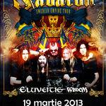Sabaton si Eluveitie: Concert in martie la Bucuresti (oficial)