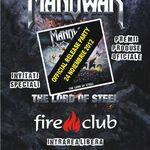 Lansarea noului album Manowar celebrata pe 24 noiembrie in Fire Club
