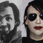 Charles Manson ii trimite scrisori lui Marilyn Manson