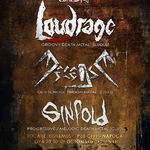 Concert Loudrage, Decease si Sinfold in Irish Music Pub (CJ)