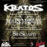 Kratos, Sinscape si Marchosias: Concert sambata la Bucuresti