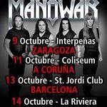 Manowar anuleaza concertele din Spania