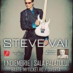 Castiga o invitatie dubla la concertul Steve Vai!