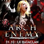 Arch Enemy: Interviu in Franta (video)