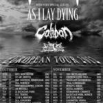 Filmari din turneul european As I Lay Dying