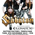 Sabaton: Interviu in Irlanda (video)