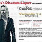Vince Neil a lansat un nou brand de vodka (foto)