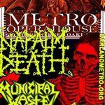 Napalm Death: Filmari profesioniste de la concertul din Oakland