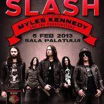 Categorie VIP epuizata pentru concertul Slash la Bucursti
