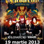 Concert Sabaton si Eluveitie marti la Turbohalle din Bucuresti