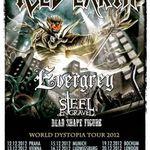 Iced Earth: ultima filmare din turneul european (video)