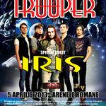 Cristi Hrubaru (Rock FM) va prezenta momentul Trooper & Iris