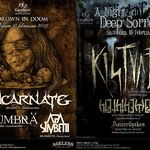 Programul concertelor Kistvaen si Sincarnate din Ageless Club