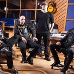Filmari din studio cu Volbeat