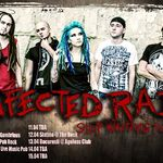 Infected Rain ajung in weekend la Bucuresti