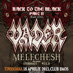 Concert Vader si Melechesh joi la Club Daos din Timisoara