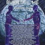 Beween The Buried And Me pornesc in turneu european