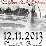 Children Of Bodom: Concert la Bucuresti pe 12 noiembrie (comunicat oficial)