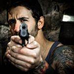 Primele poze cu solistul Godsmack ca actor in Army Of The Damned