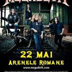 Trooper canta in deschiderea concertului Megadeth la Bucuresti