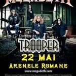 Concert Megadeth miercuri la Arenele Romane din Bucuresti!