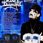 King Diamond a dat startul turneului european (video)