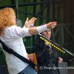 Megadeth au cantat in Italia alaturi de Cristina Scabbia (video)