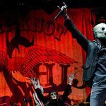 Filmari cu Slipknot la Roskilde 2013