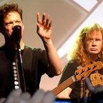Jason Newsted alaturi de Megadeth pe scena pentru o piesa Metallica