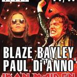 Paul Di'Anno si Blaze Bayley (ex-Iron Maiden) - Iron Maiden (filmari live)