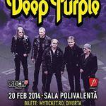 Parcarea Salii Polivalente va fi indisponibila pentru concertul Deep Purple