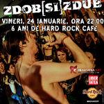 Zdob si Zdub la Hard Rock: Ultimele 30  de bilete iti sunt oferite de Palinca ZETEA