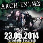 Program si reguli de acces la concertul Arch Enemy de la Bucuresti