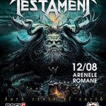 Testament, diseara la Arenele Romane (setlist probabil)