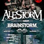 Alestorm si Brainstorm pornesc in turneu european