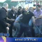 Tanar calcat in picioare de agentii de paza in timpul unui concert Cargo (video)