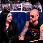 Nergal (Behemoth) vs.  Susie Von Slaughter (interviu video)
