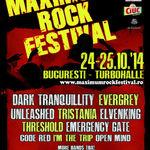 Afla ce albume noi vor fi lansate oficial in Romania in cadrul Maximum Rock Festival 2014