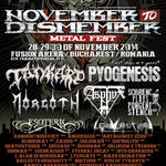 Morgoth nu mai canta la November to Dismember Metal Festival 2014
