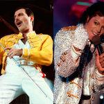 Duetul Freddie & Michael Jackson, pe