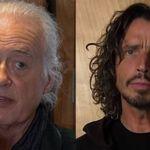 O seara cu Jimmy Page si Chris Cornell