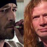 Dave Mustaine, sursa de inspiratie pentru actori