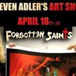 Steven Adler, membru fondator Guns n' Roses, devine artist plastic