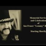 Intreaga ceremonie de comemorare a lui Lemmy a fost postata online