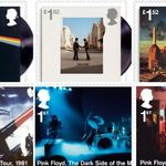 British Royal Mail scoate o serie de timbre 'Pink Floyd'