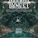 Programul concertului Negura Bunget