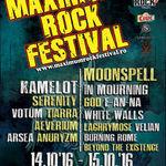 A ramas doar o luna pana la MAXIMUM ROCK FESTIVAL 2016