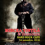 O categorie de bilete pentru concertul Mircea Vintila si Brambura de la Hard Rock Cafe este epuizata