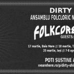 Dirty Shirt face apel la fani pentru sustinerea turneului 'FolkCore Detour'