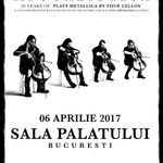 Apocalyptica la Bucuresti: Categoria C de bilete este Sold Out!